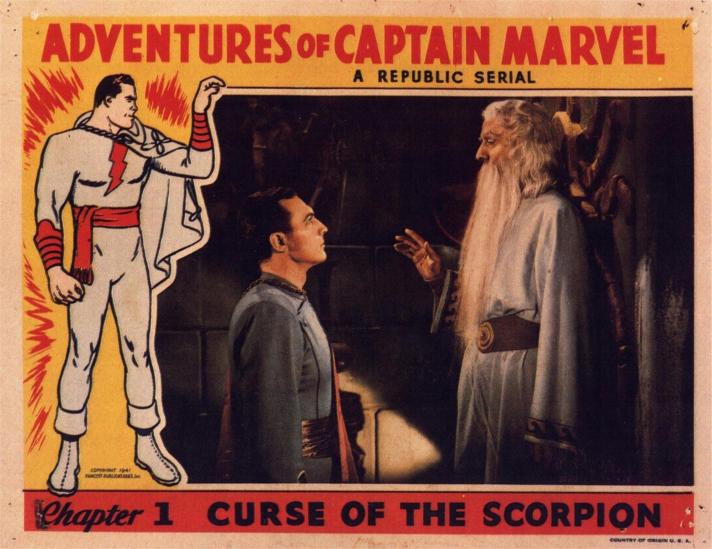 Captain MArvel Lobby Card