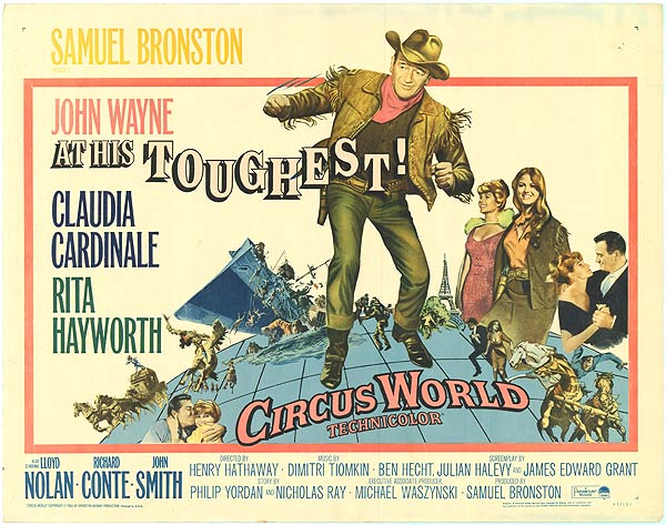 Circus World Lobby Card