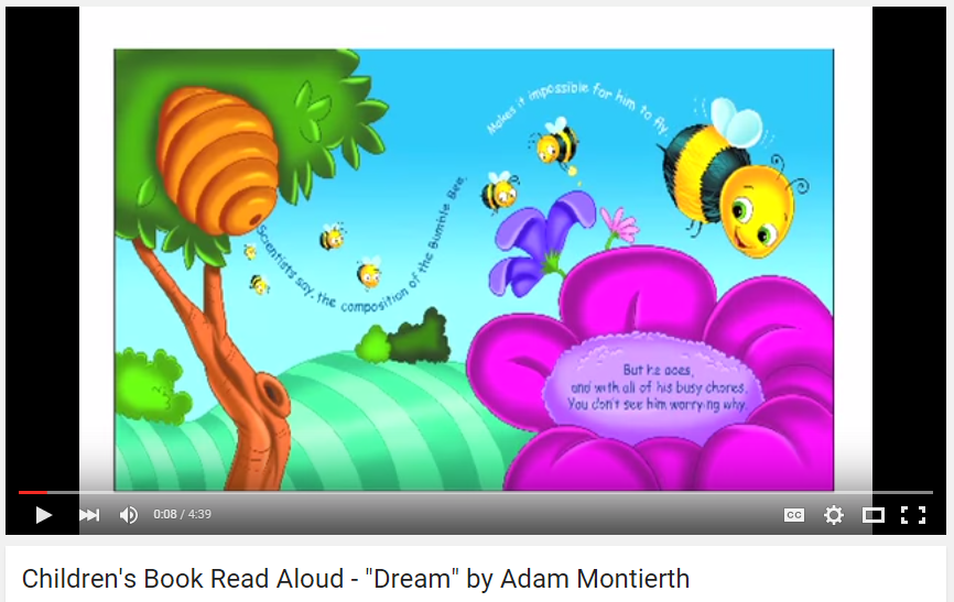 Children s Book Read Aloud Dream Screenshot