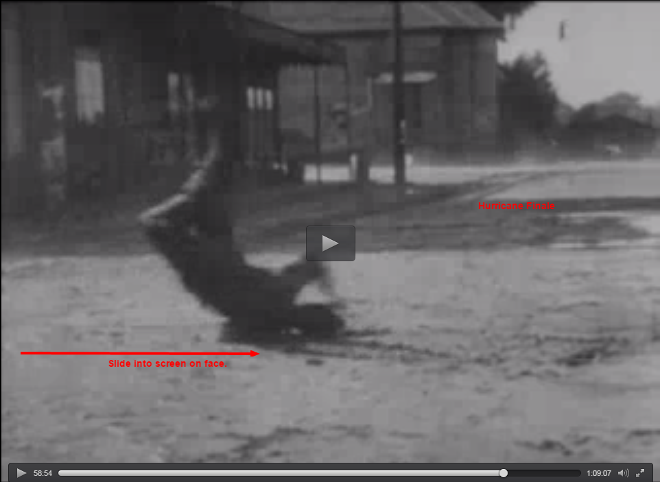 Steamboat Bill Jr stunts