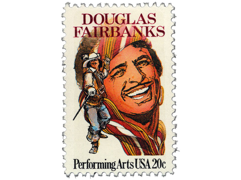 douglas Fairbanks Stamp