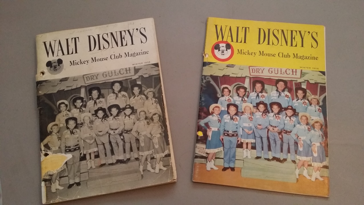 walt disneys mickey mouse club magaziines