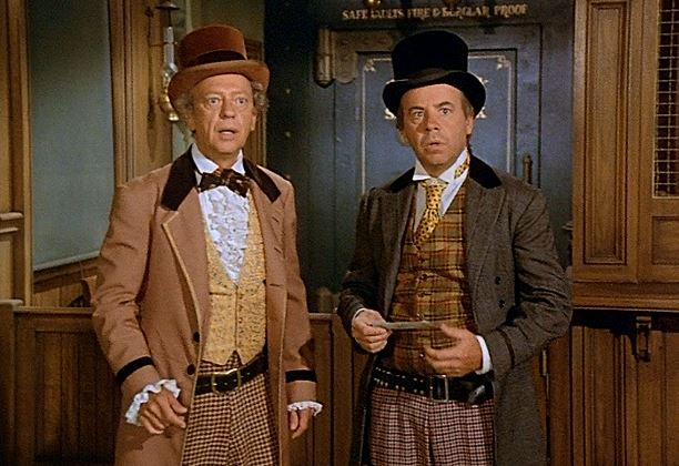 Don Knotts and Tim Conway
