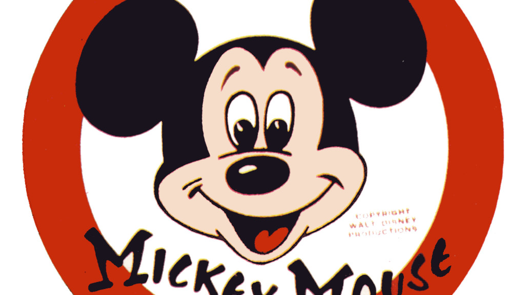 original mockup of issue 1 of walt disney�s mickey mouse