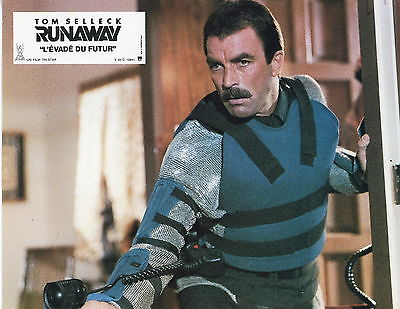 TOM-SELLECK-RUNAWAY-1984-VINTAGE-LOBBY-CARD-ORIGINAL