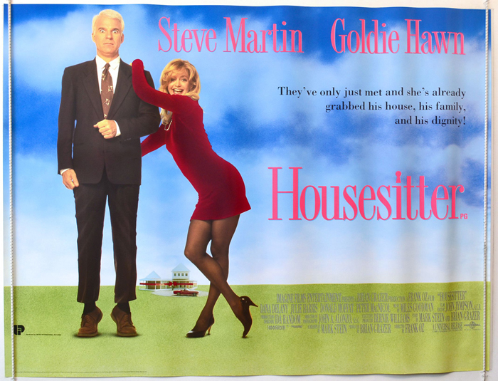 Housesitter : Original Cinema Quad Poster