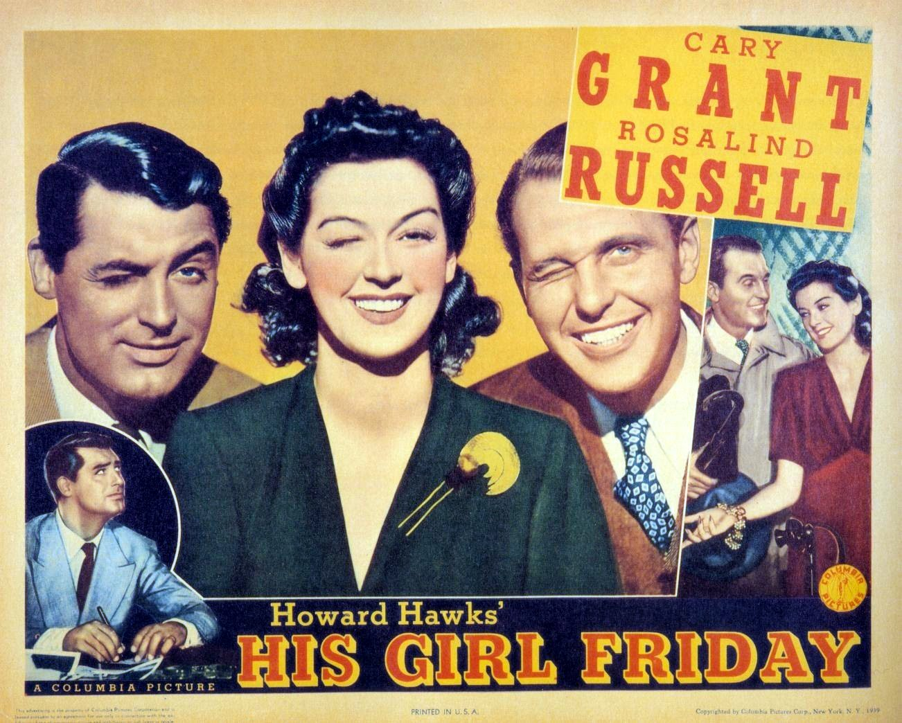 his girl friday 1