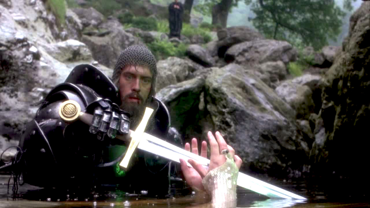 a movie analysis of excaliber This is the first survive the jive film review i look at one of my favourite films, the medieval fantasy epic excalibur by john boorman based on le morte d'arthur by sir thomas malory 1485.