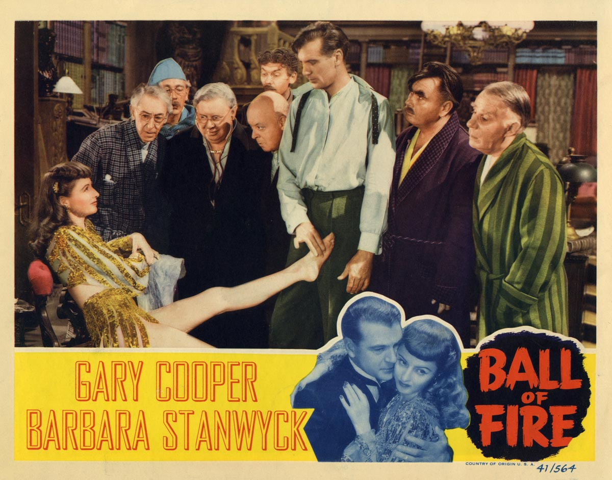 Ball of Fire lobby Card