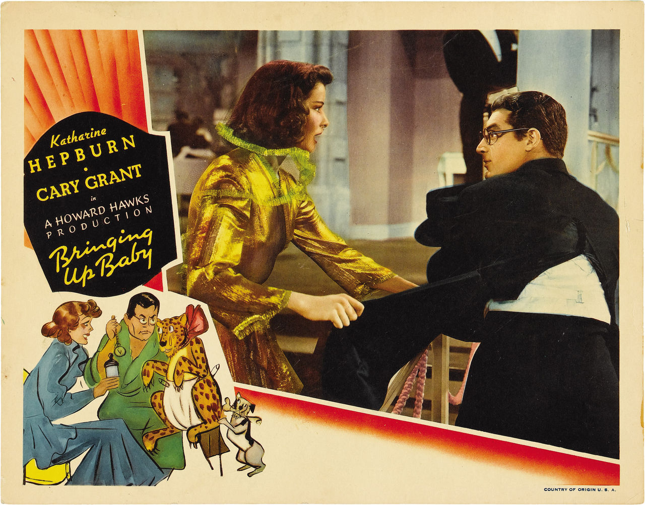 Bringing Up baby Lobby Card