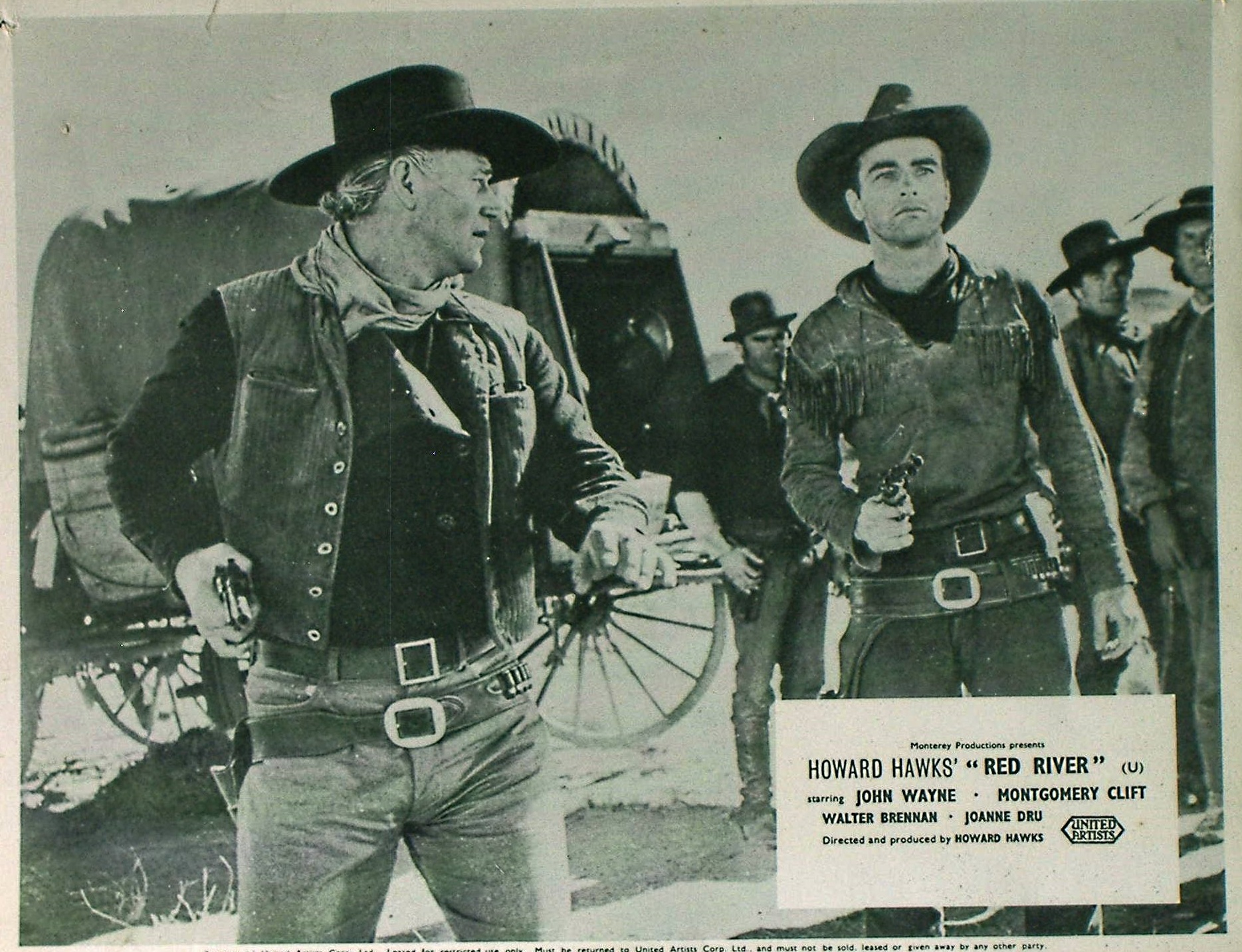 Red River lobby card