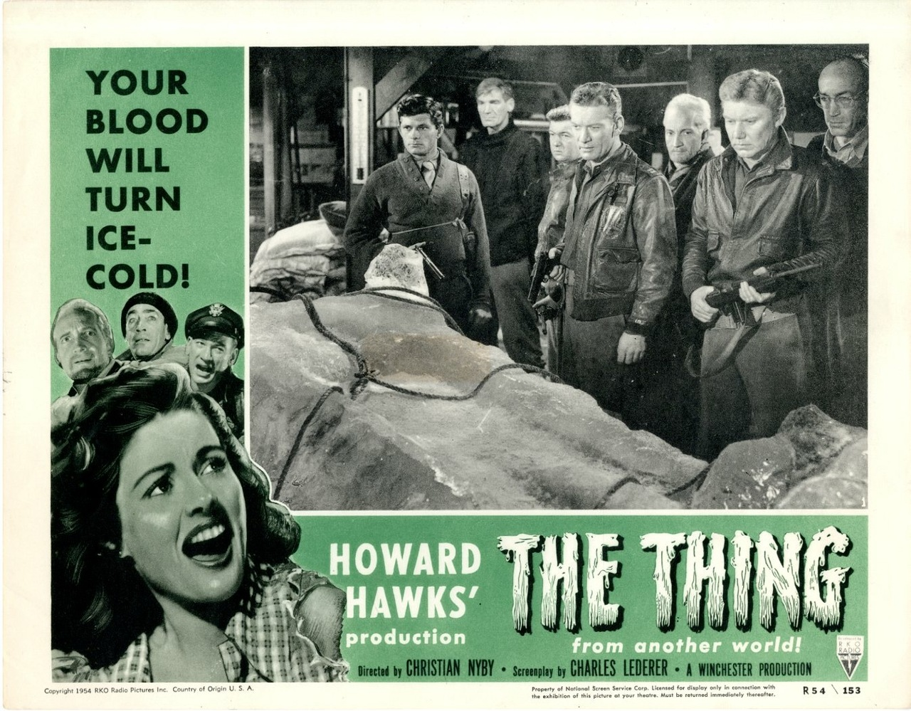 The Thing From Another World Lobby Card