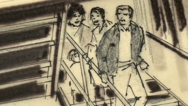 Towering inferno storyboard