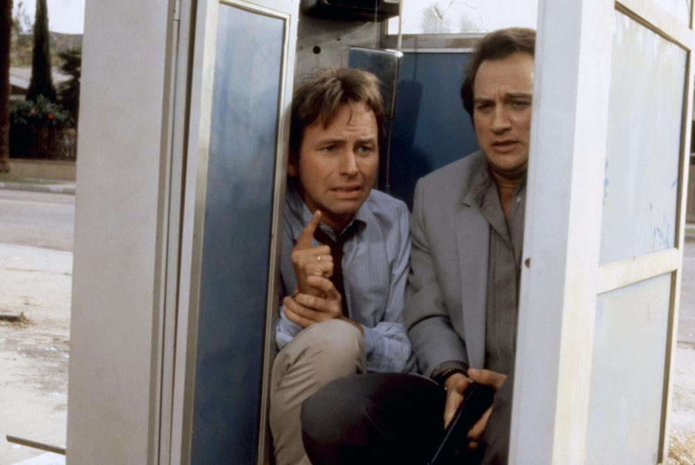 REAL MEN, John Ritter, James Belushi, 1987. ©United Artists