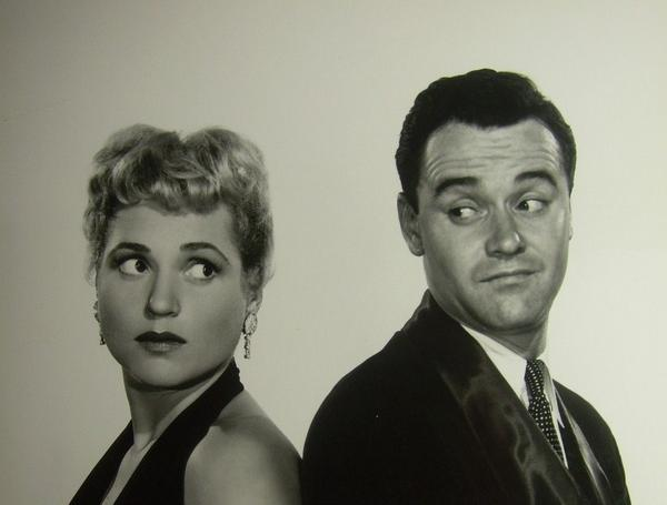 Jack Lemmon and Judy Holliday