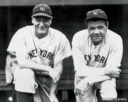 babe ruth lou gehrig