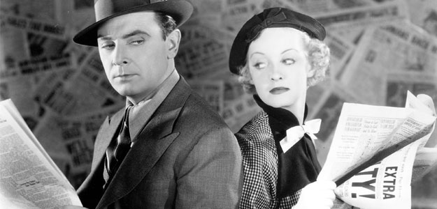 Front Page Woman Film Noir Mystery
